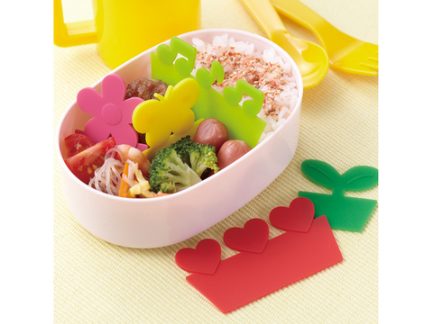 Happy Silicone Balan Dividers by Torune - Bento&co Japanese Bento Lunch Boxes and Kitchenware Specialists