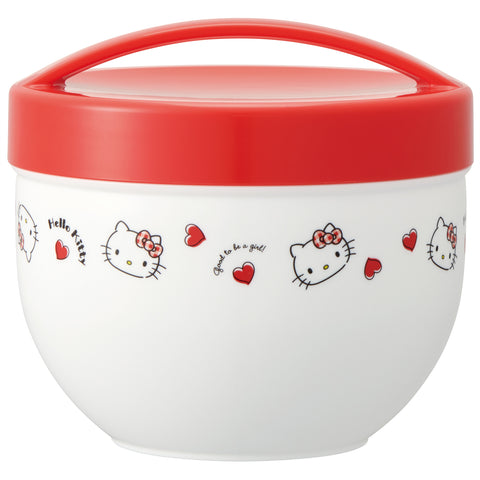 Hello Kitty Lunch Bowl | Red Hearts