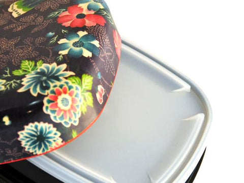 Replacement Bento Lid | Kimono Picnic Bento by Hakoya - Bento&co Japanese Bento Lunch Boxes and Kitchenware Specialists