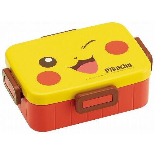 Pokemon Pikachu Face Bento Box 650ml by Skater - Bento&co Japanese Bento Lunch Boxes and Kitchenware Specialists