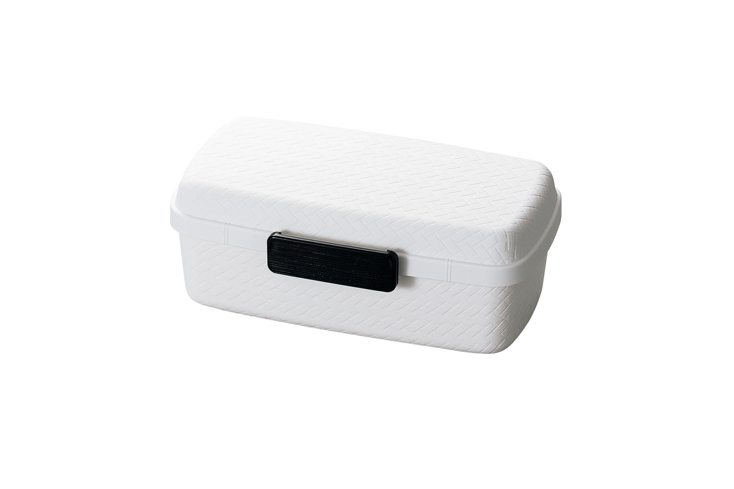 Nuri Ajiro Side Lock Bento Box Large | White by Hakoya - Bento&co Japanese Bento Lunch Boxes and Kitchenware Specialists