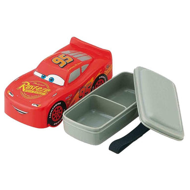 Cars 3D Bento Box | McQueen by Skater - Bento&co Japanese Bento Lunch Boxes and Kitchenware Specialists