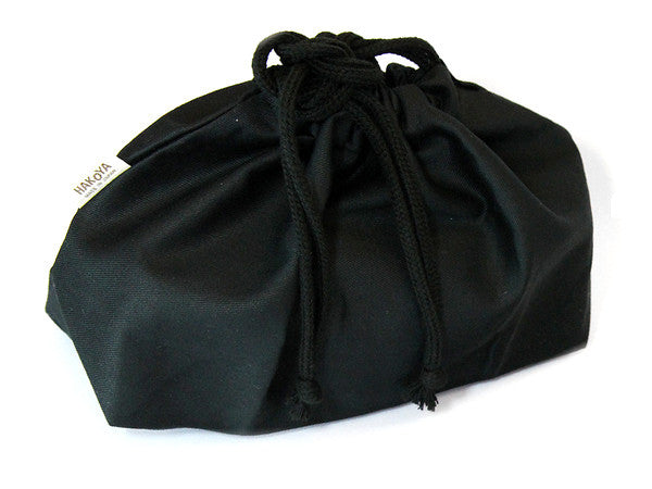 Black Bento Carry Bag by Hakoya - Bento&con the Bento Boxes specialist from Kyoto