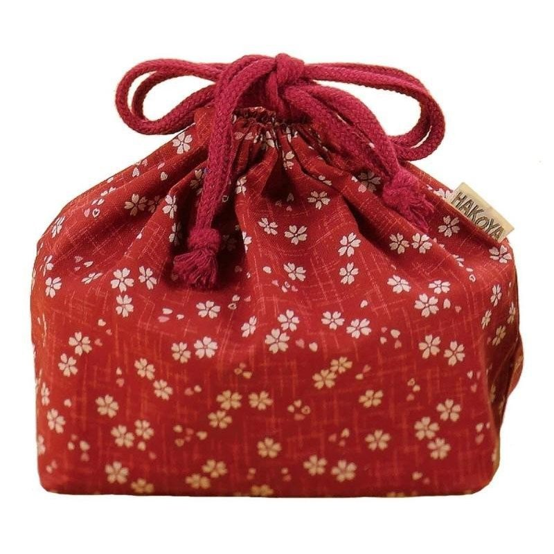 Sakura Bag | Red by Hakoya - Bento&co Japanese Bento Lunch Boxes and Kitchenware Specialists