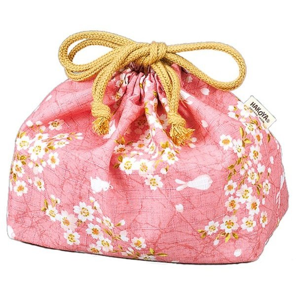 Sakura Usagi Bag | Pink by Hakoya - Bento&co Japanese Bento Lunch Boxes and Kitchenware Specialists