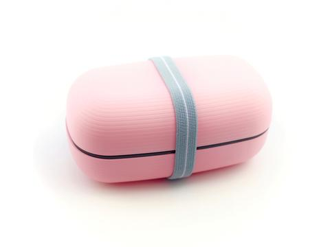 Samon Lunch Box | Pink by Hakoya - Bento&con the Bento Boxes specialist from Kyoto