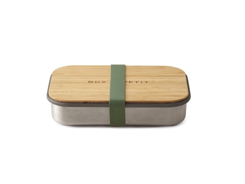Black+ Blum Stainless Steel Sandwich Box | Olive by Black + Blum - Bento&con the Bento Boxes specialist from Kyoto