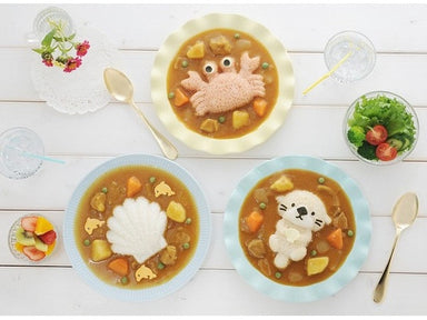 Sea Animals Curry Rice Mold Set by Arnest - Bento&co Japanese Bento Lunch Boxes and Kitchenware Specialists