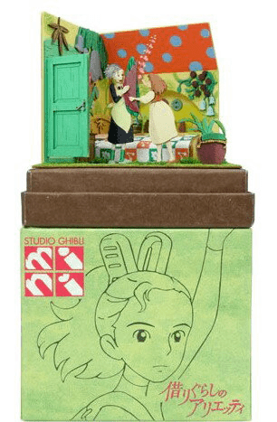 Miniatuart | Arrietty: Homily and Arrietty