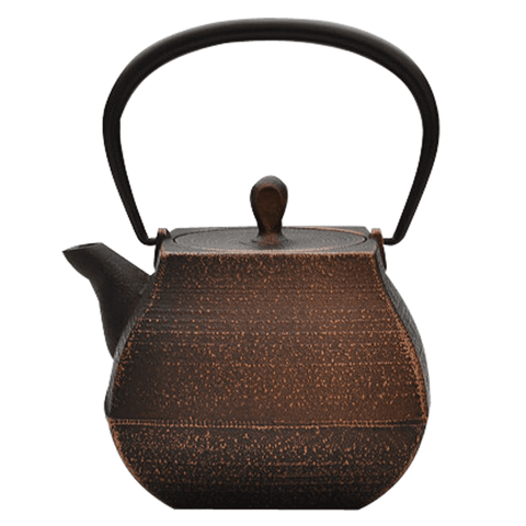 Enamel Sekitei Teapot | Burnished Copper