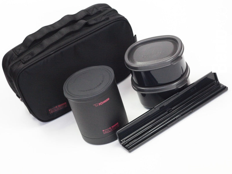 Zojirushi - Compact & Black by Bento&co | AMZJP - Bento&con the Bento Boxes specialist from Kyoto