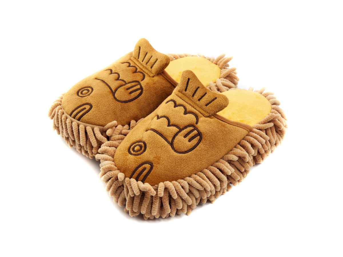 Kawaii Microfibre Animal Slippers Taiyaki Fish by Interior Company - Bento&co Japanese Bento Lunch Boxes and Kitchenware Specialists
