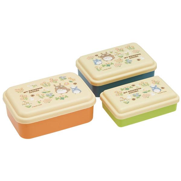 Totoro Flower Orange Box 3P set