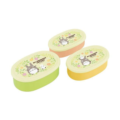 Totoro Plants Lunch Box 3P set by Skater - Bento&co Japanese Bento Lunch Boxes and Kitchenware Specialists