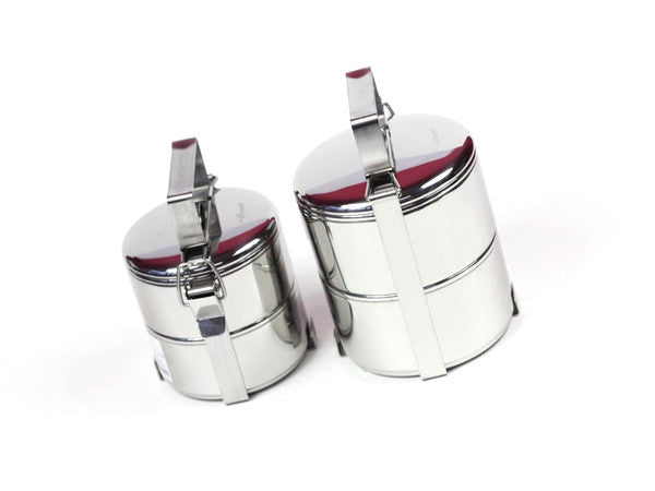 Seagull Tiffin Stainless Steel Lunch Box | Medium by Noble Traders - Bento&co Japanese Bento Lunch Boxes and Kitchenware Specialists