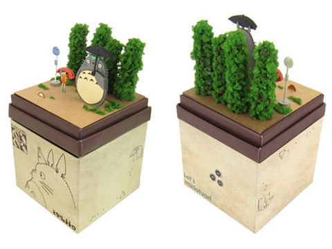 Miniatuart | My Neighbor Totoro : Totoro and the bus stop by Sankei - Bento&con the Bento Boxes specialist from Kyoto