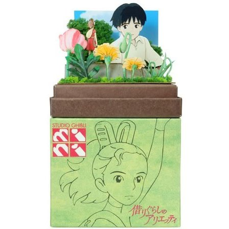 Miniatuart | Arrietty: Sho and Arrietty