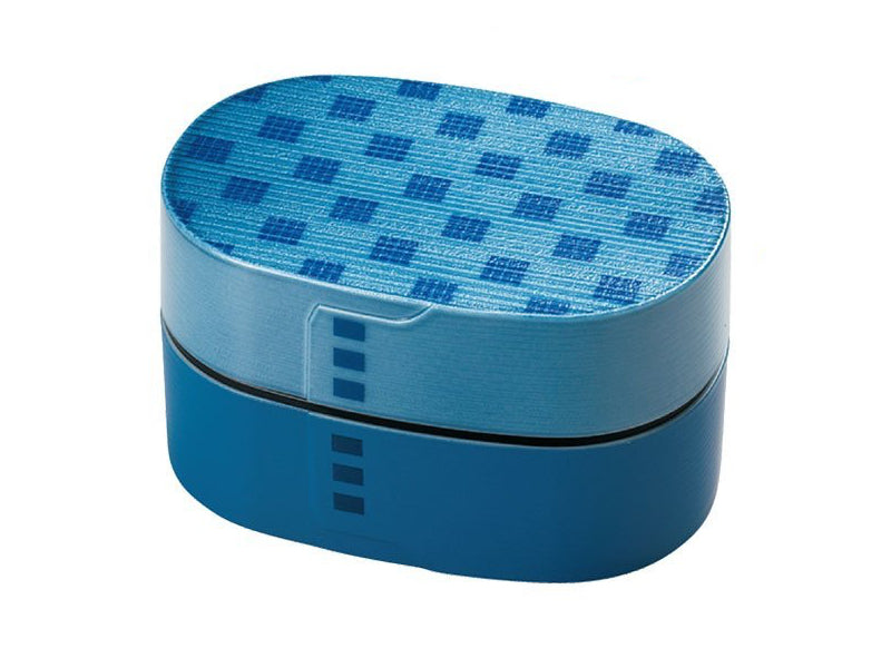 Iromon Wappa Bento Box (Small) | Blue by Hakoya - Bento&co Japanese Bento Lunch Boxes and Kitchenware Specialists