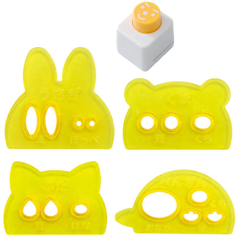 Winky Faces Food Cutters by Arnest - Bento&con the Bento Boxes specialist from Kyoto
