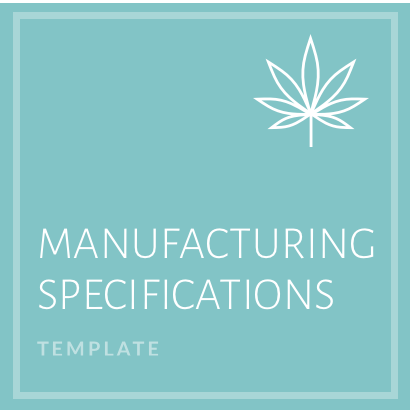 Manufacturing Specifications