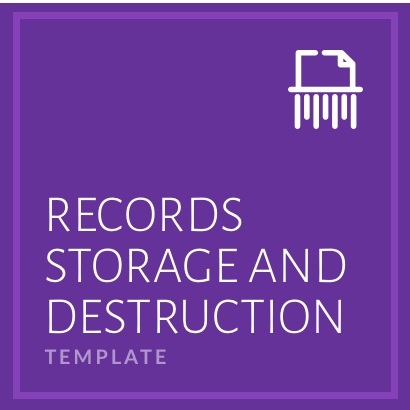 Records Storage and Destruction