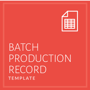 Batch Production Record
