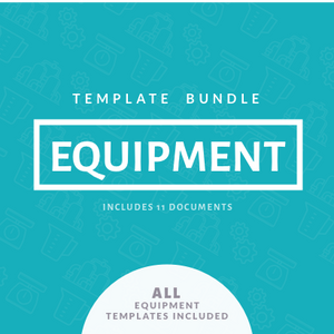 Equipment Template Bundle