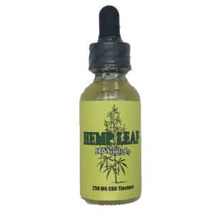 Hemp Leaf CBD Supply Co. Hemp Oil Tincture (250, 500, 1000MG)