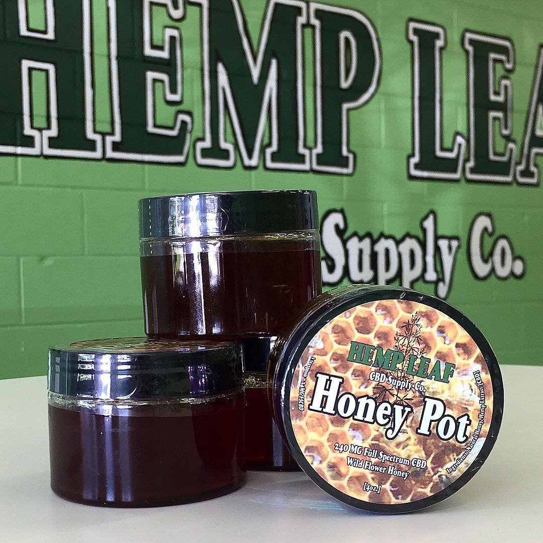 Hemp Leaf CBD Supply Co. Full Spectrum Honey Pot (240MG)