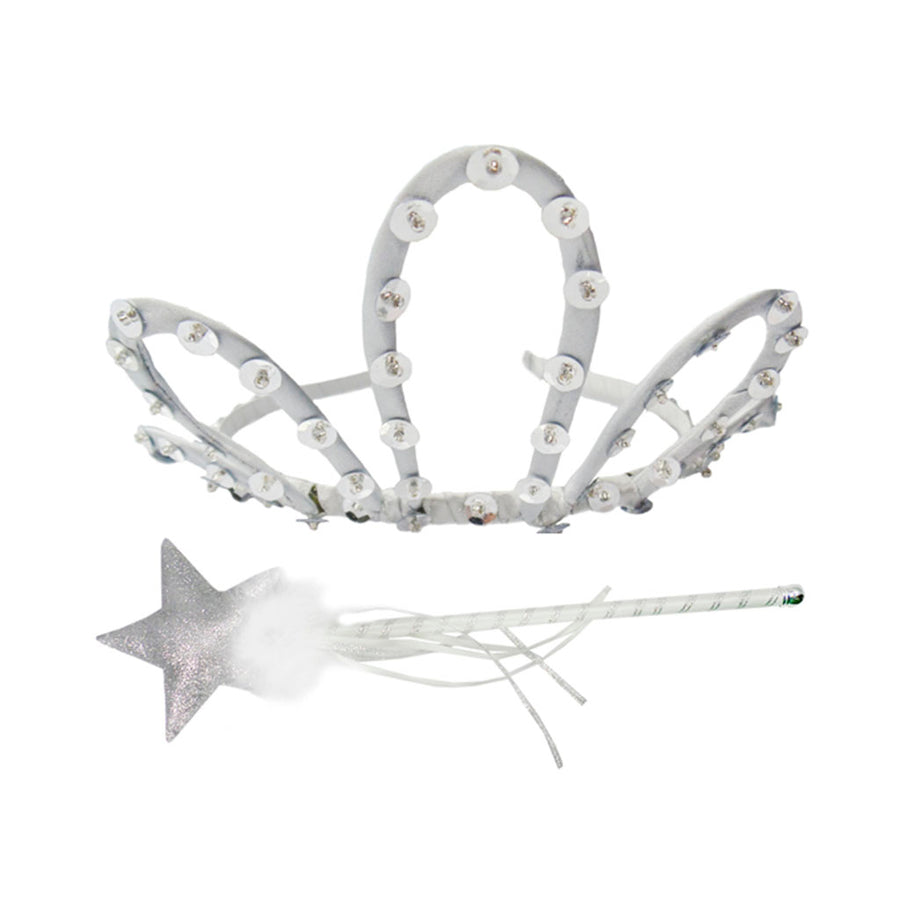 Pretty Princess Tiara/Wand Set