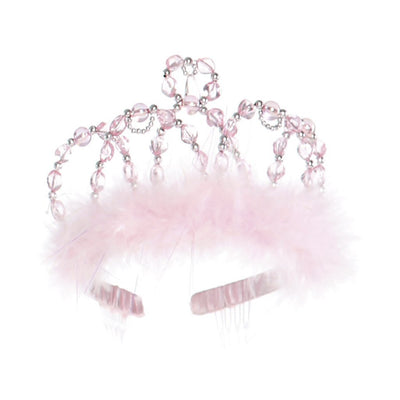 Pink & Silver Princess Tiara - Great Pretenders