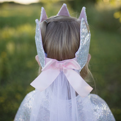 Sequins Crown with Veil - Great Pretenders