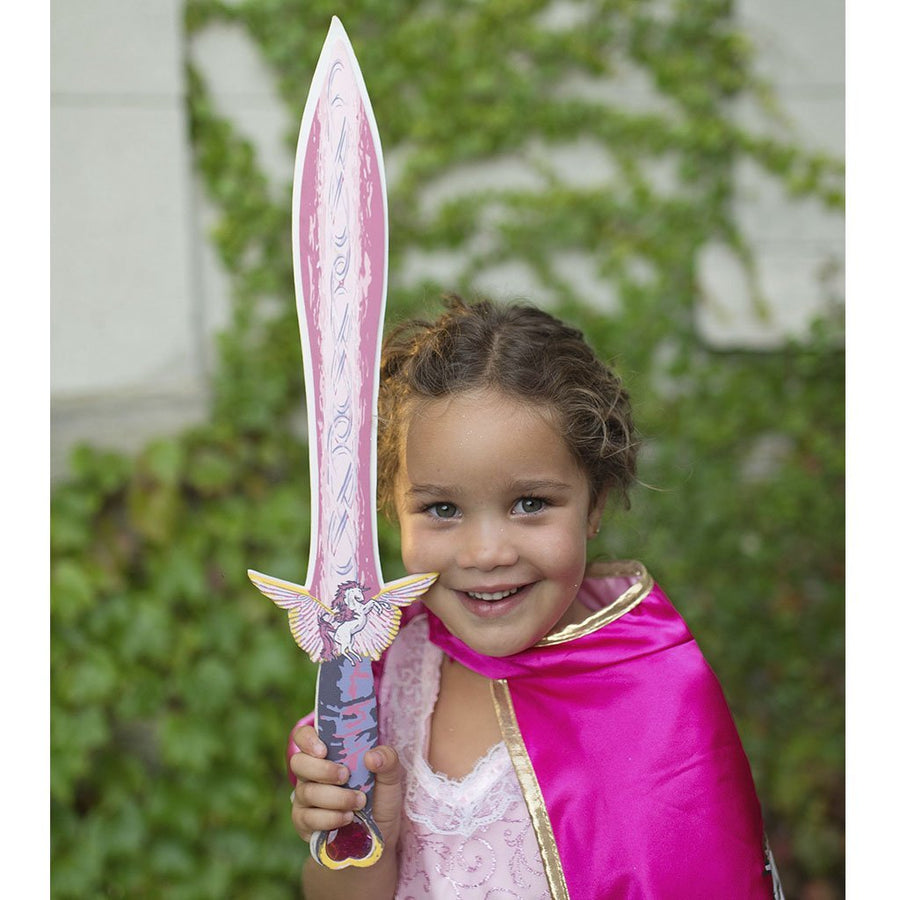Pink Unicorn EVA Foam Sword - Great Pretenders