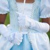 White Storybook Princess Gloves