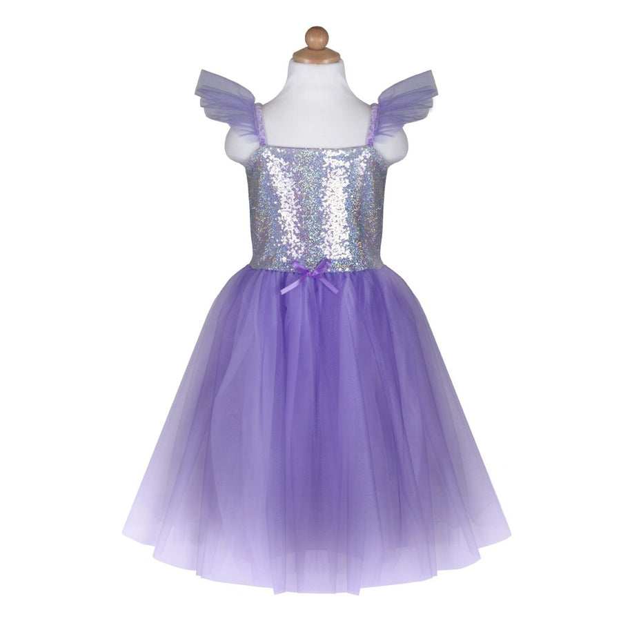 Sequins Princess Dress Lilac