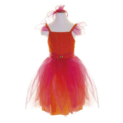 Pink & Orange Sunset Flower Fairy Set - Great Pretenders