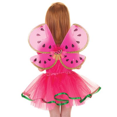 Watermelon Skirt and Wings Set