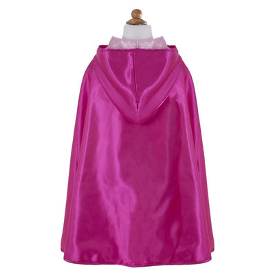 Light Pink Reversible Hooded Princess Cape - Great Pretenders