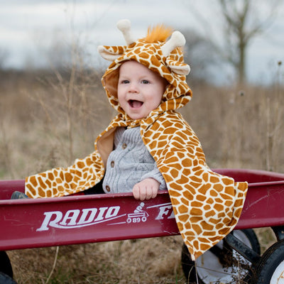 Toddler Giraffe Cape