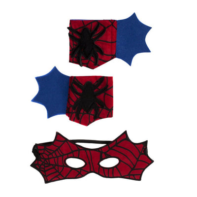 Spider Cape Set with Mask and Cuffs - Great Pretenders