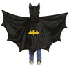 Black Bat Cape with Hood