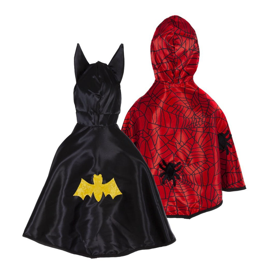 Baby Reversible Spider Bat Cape