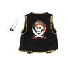 Pirate Vest with Eye Patch - Great Pretenders