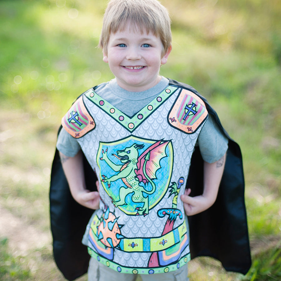 Colour a Knight Tunic