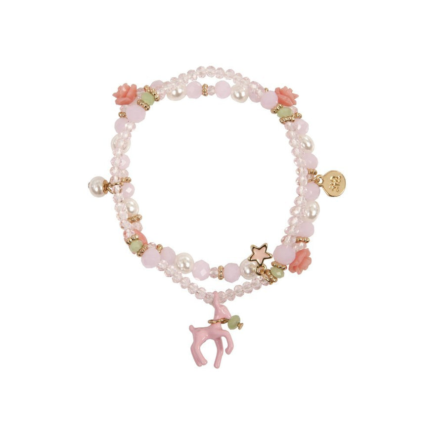 Rose Deer Charm Bracelet (boxed) - Great Pretenders