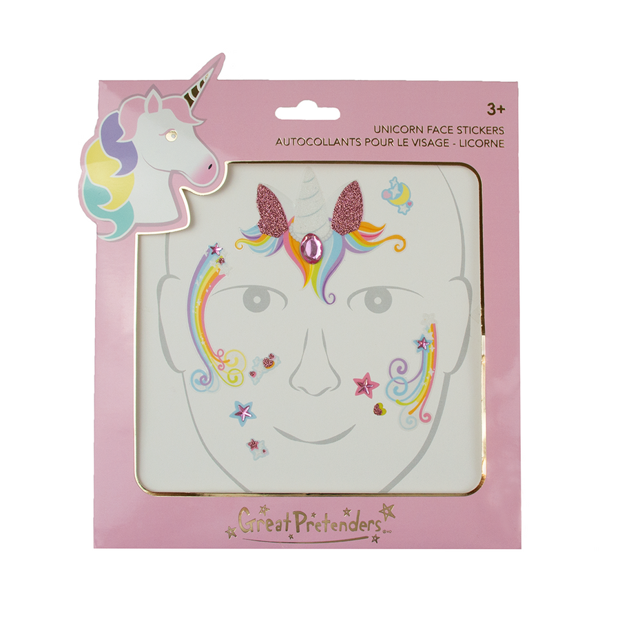 Unicorn Fairy Face Stickers