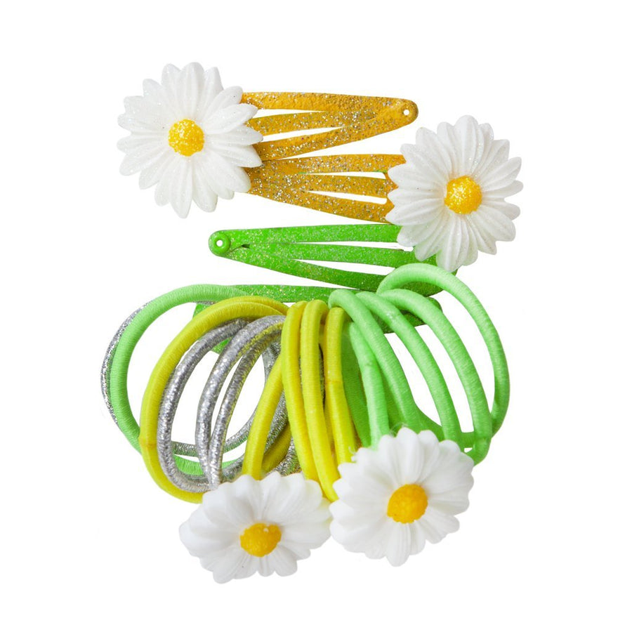Dazzling Daisy Ponytail Holders & Hairclips - Great Pretenders