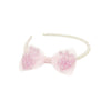 Pearly Perfect Headband with Bow - Great Pretenders