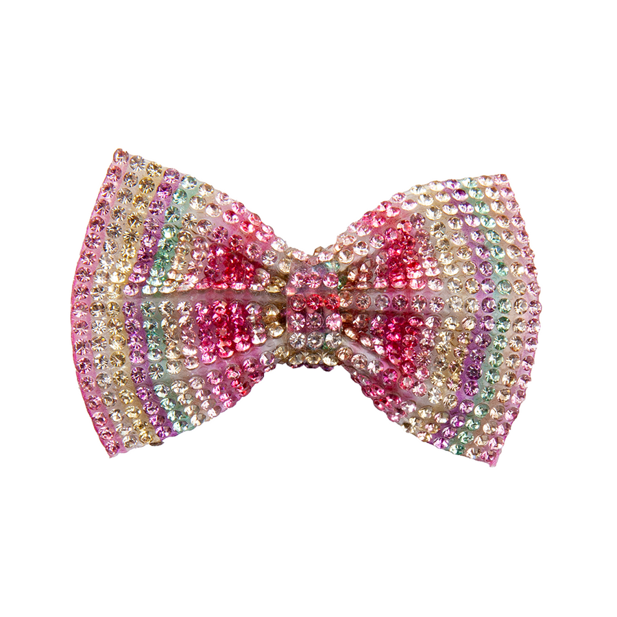 Boutique Gem Bow Hairclip