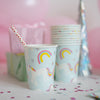 Cups - Party - Unicorn (8 pcs)